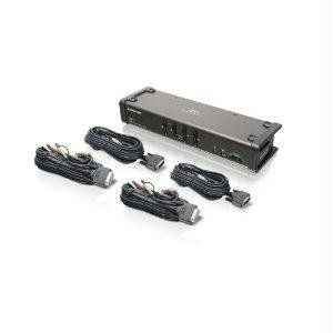 KVM Switches & Cables IOGear 4 Port DVI KVMP Switch and