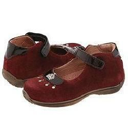 Kids M200/H (Infant/Toddler) Horse 165 Bordo (Burgundy Glitter Suede