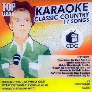 Top Tunes Karaoke CD+G Classic Country Vol. 7 TT 243