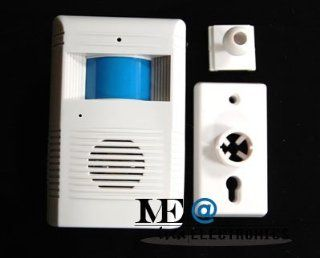 Motion Sensor Wireless Entry Alarm with Door Bell Chime