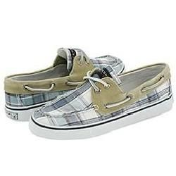 Sperry Top Sider Bahama 2 Eye Light Blue Madras