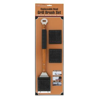 Mr. BBQ Oversized 21 inch Grill Brush Set