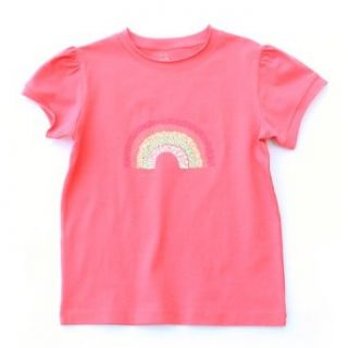 Kite Kids Girls Rainbow T Shirt   Coral   11 Years