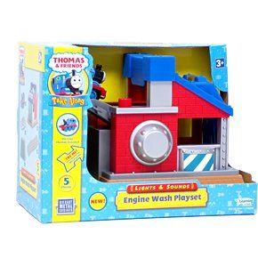 Thomas Take Along Lights & Sounds Sodor Engine Wash