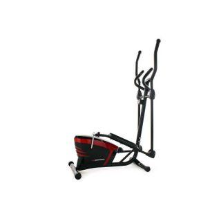 Vélo elliptique 202F KS Sports rouge / noir)   Idéal pour entrîner