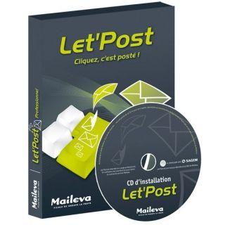 Maileva LetPost v2.0.4   Achat / Vente LOGICIEL BUREAUTIQUE Maileva