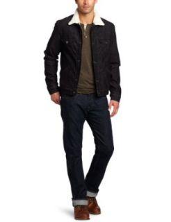 True Religion Mens Cord Sherpa Jacket: Clothing