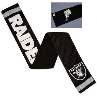 Little Earth Oakland Raiders Jersey Scarf