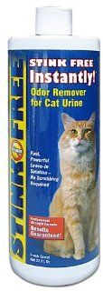 STINK FREE Instantly Urine Odor Remover for Cat Urine, 32