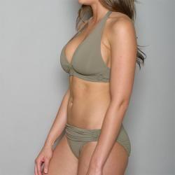 Jantzen Womens 2 piece Halter Top Bikini