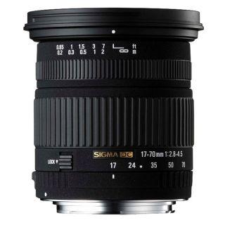 Sigma 17 70mm F2.8 4.5 DC Macro Canon Lens