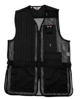 Bob Allen 240M Shooting Vest   Mesh RH BLK 240M 40082