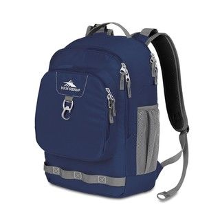 High Sierra Brewster Blue Velvet Laptop Backpack