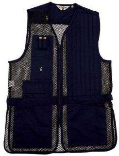 Bob Allen 240M Shooting Vest   Mesh NAVY LH 240M 30173