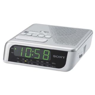 SONY ICF C205 Silver   Achat / Vente RADIO REVEIL SONY ICF C205 Silver
