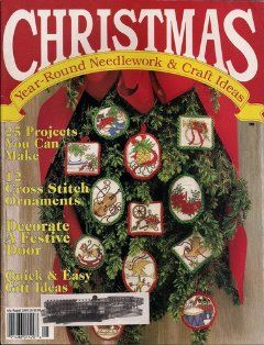 Christmas Year Round Needlework & Craft Ideas July/August 1990