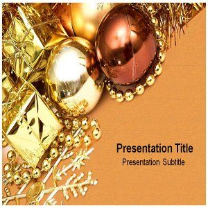Christmas PowerPoint Template   PowerPoint Templates on