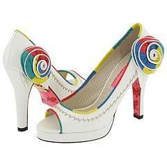 Betsey Johnson Campbell White Multi
