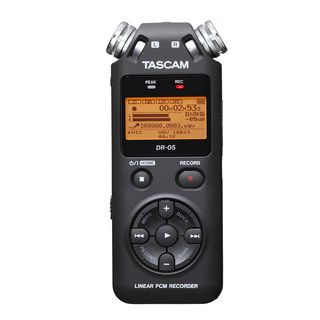 TASCAM DR 05 Handheld Portable Digital Recorder