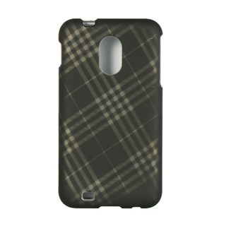 Premium Samsung Galaxy S II Epic 4G Touch Plaid Check Protector Case