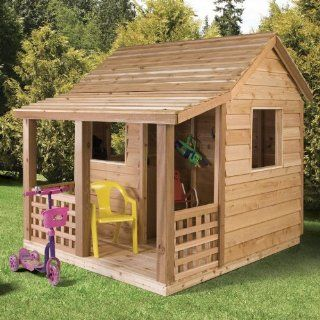Cedar Shed Cabin Cedar Playhouse: Toys & Games