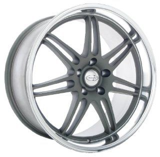 19x9.5 Privat Reserv (Grey w/ Machined Lip) Wheels/Rims 5x114.3