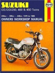 Suzuki GS/GSX250, 400 & 450 Twins 249cc 399cc 448cc. 79 85 (Haynes