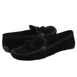 Perlina Luxury Comfort Footwear Moda Black Suede