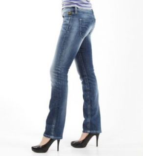 Star Damen Straight Jeans Ford Straight WMN, denim, Gr. 34/36