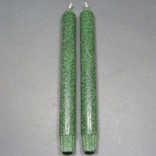 Pair of 9 Green Chakra Taper Candles, Aloha Bay, Color