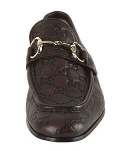 Gucci Leather Guccissima Loafers with Bit Hardware