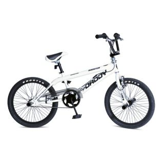 Modèle Big Daddy. Coloris Blanc. Un vélo BMX Freestyle robuste au