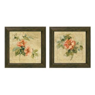 Cheri Blum Provence Rose Framed Wall Art (Set of 2)
