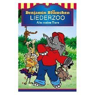Benjamin Blümchen   Liederzoo Alle meine Tiere [Musikkassette