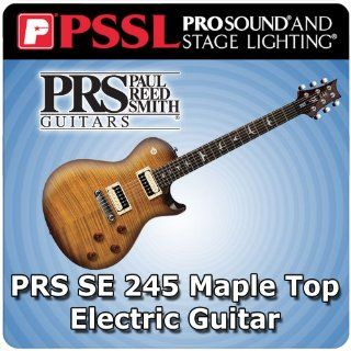 PRS SE 245 Maple Top Electric Guitar Six String   Fixed