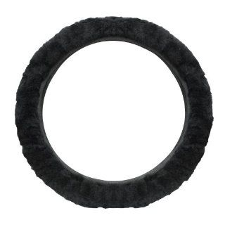 Pilot SW 245E Black Sheep Skin Steering Wheel Cover