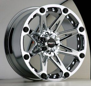 20x9 Ballistic Jester (Chrome) Wheels/Rims 6x139.7 (814290655+00