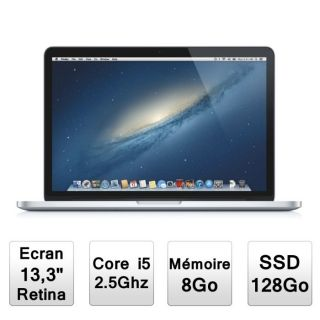 ORDINATEUR PORTABLE Apple MacBook Pro 13 avec écran Retina (MD212F/A