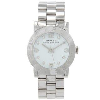 Marc by Marc Jacobs Womens Amy Stainless Steel Watch