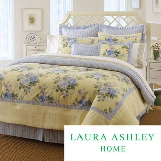 Laura Ashley Caroline Twin size Comforter Set