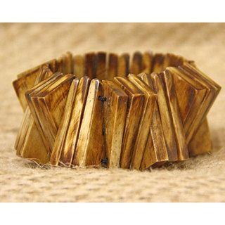 Cow Bone Inter triangle Bracelet (Kenya)