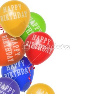 Happy Birthday Balloons  Stock Photo © Mark hegedus #1394277