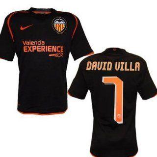 FC Valencia David Villa Trikot Away 2009 Sport & Freizeit