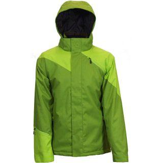 Boulder Gear Mens Fresh Stash Olive Ski Jacket