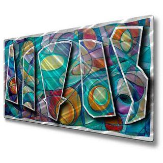 Ash Carl Dancing Dynamics Metal Wall Art Today $226.99