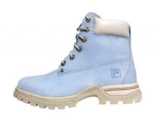 Fila Forte Damen Stiefel Boots hellblau Schuhe
