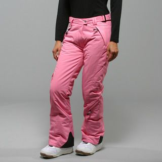 Marker Womens SL Pink Insulated Ski Pants