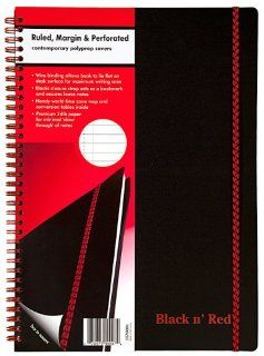 Inches, Black, 70 sheets (140 pages) (E67008) Office Products