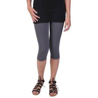 Journee Collection Juniors Elastic Waist Capri Leggings