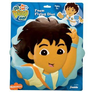 Go Diego Go   Kids Toys   Diego Flying Foam Disc Toys